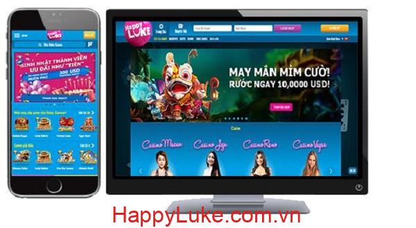 ứng dụng HappyLuke mobile