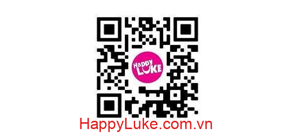 quét mã QR tải HappyLuke mobile